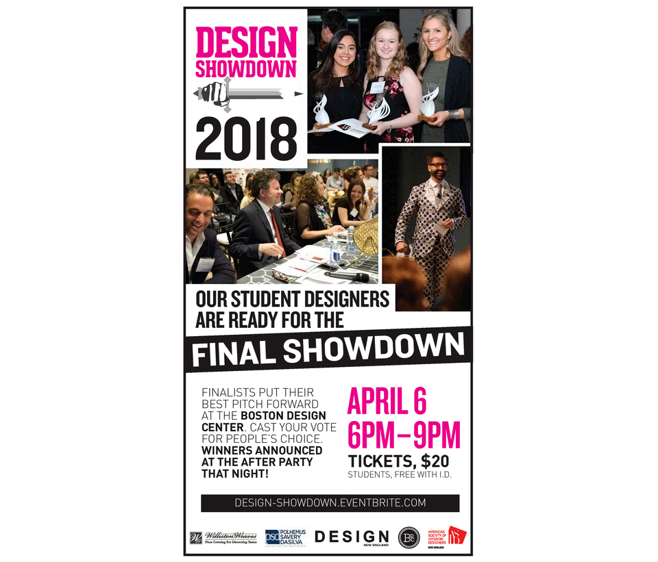 News Design Showdown Flyer
