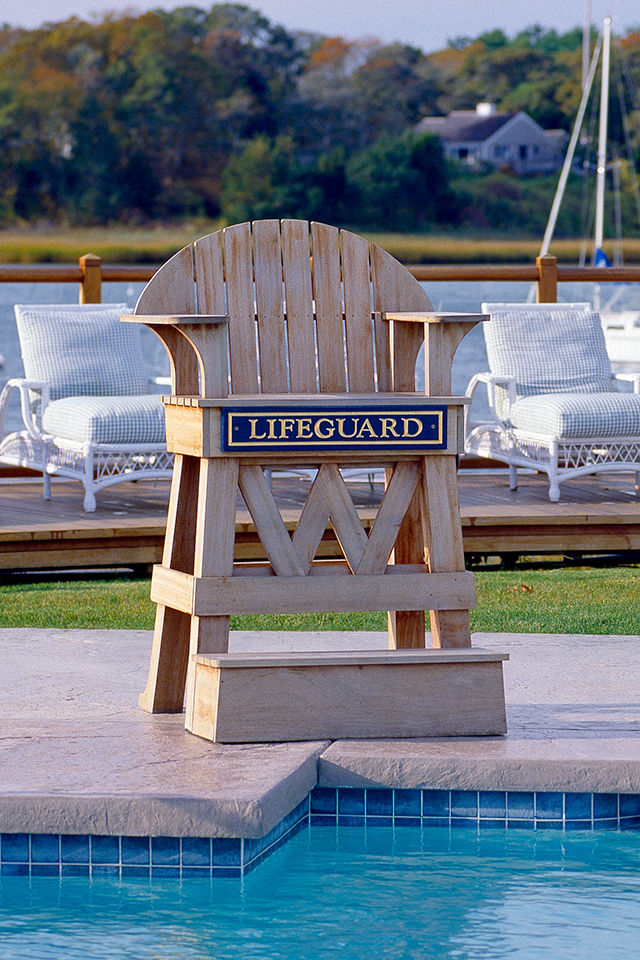 Wequassett Pool Complex Psd 4 R Lifeguard Chair